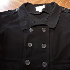 Levi's Jackets & Coats - Levis Black Jean Double Breasted Jacket Large